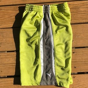 Boys Puma Athletic Short Size L